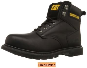 Caterpillar Men's 2nd Shift 6 Inch Plain Soft-Toe Work Boot