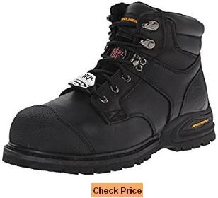 Skechers for Work 77057 Goodyear Welt Industrial Steel Toe Work Boot