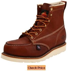Thorogood Mens American Heritage 804-4200 6-Inch Steel-Toe Work Boot