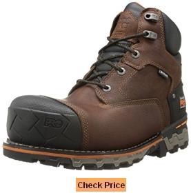 Timberland PRO Men's 6 Inch Boondock Comp-Toe Industrial Work Boot