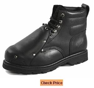 Rhino Men's 6MS01 6 Inch Steel Toe Metatarsal Leather Work Boot